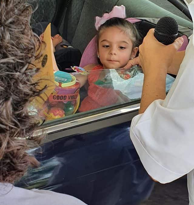 Caravana de Pre Kinder y Kinder